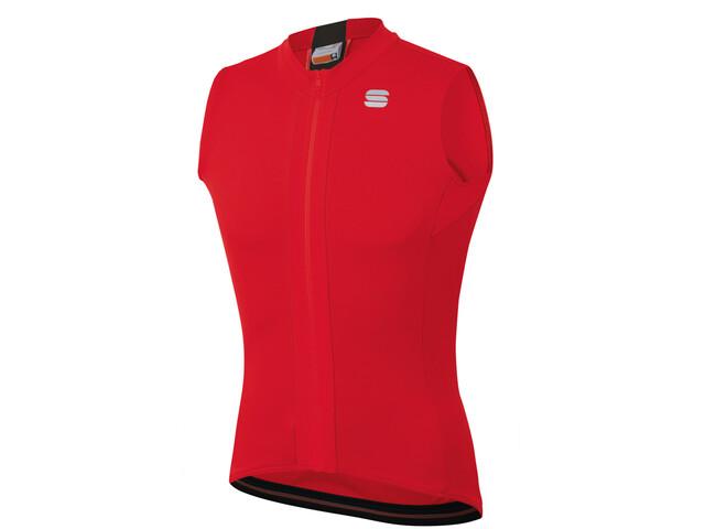 Sportful Strike Sleeveless Jersey Men red black